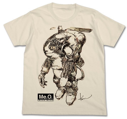 Meow Tシャツ/NATURAL-XL