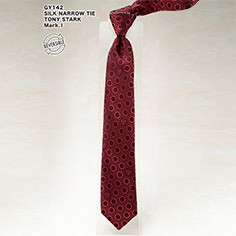 SILK NARROW TIE / TONY STARK Mark.�T