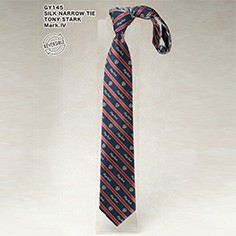 SILK NARROW TIE / TONY STARK Mark.�W
