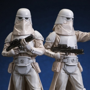 Star Wars / ARTFX+ Snow Trooper 2 Pack