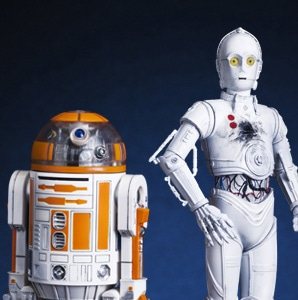 Star Wars / ARTFX+ R3-A2 with K-3PO CELEBRATION EXCLUSIVE